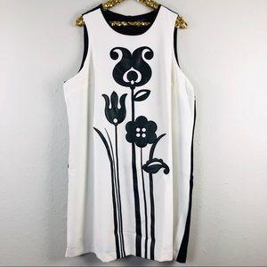 Victoria Beckham Target Floral Sleeveless Dress
